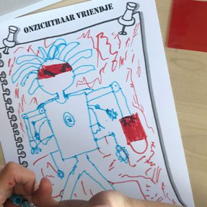 Museum van het Onzichtbare Vriendje Kinderboekenbal voor de Fundatie